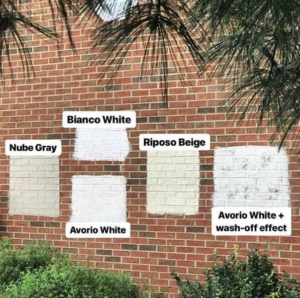 rambino-paint-on-brick What is Limewash? Eco Painter Austin - Austin Natural Painting